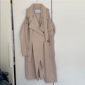 ASOS Jackets & Coats - Lost Ink Cold shoulder jacket